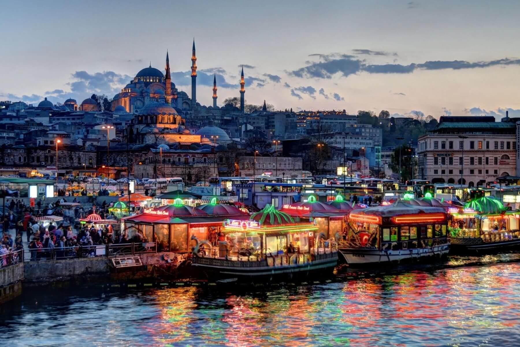 Какие праздники в Стамбуле в январе