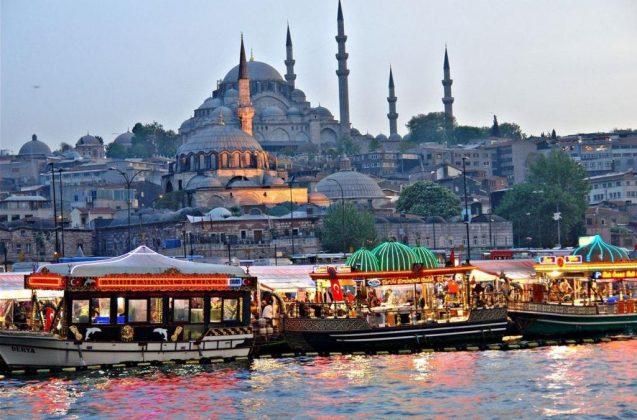 Сколько стоит еда в Стамбуле в декабре