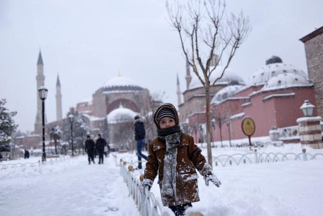 Что брать с собой из одежды в Стамбул в январе