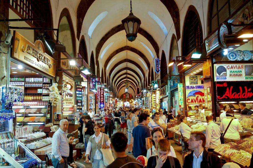 Где купить подарки в январе в Стамбуле