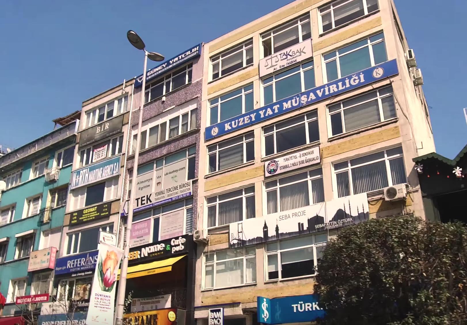 Дома и улицы Стамбула