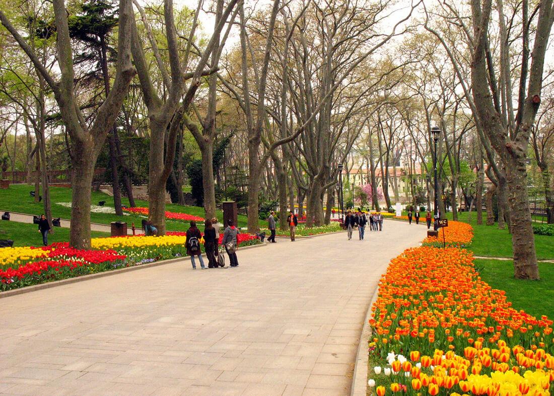 Парк Гюльхане в Стамбуле
