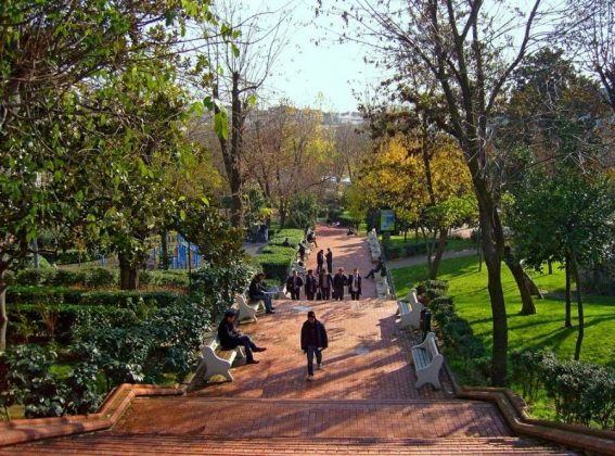 Парк «Мачка» в Стамбуле