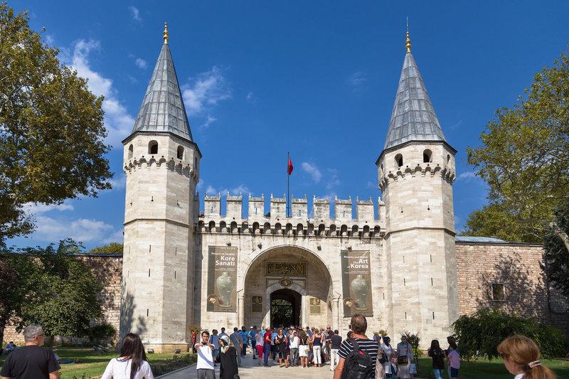 Сераль Топкапы в Стамбуле