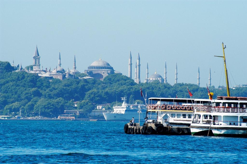 Круиз на пароме в Стамбуле