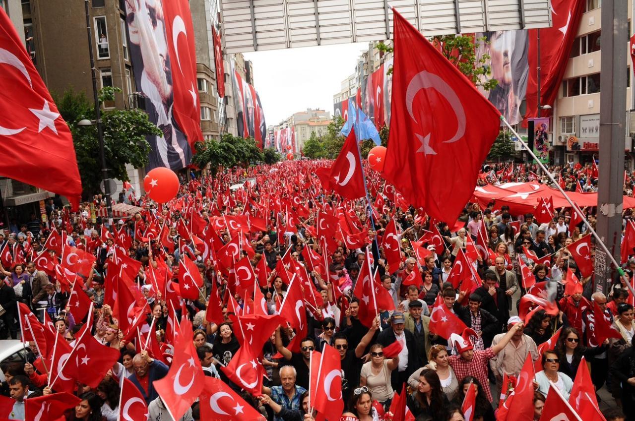 Праздники в Стамбуле в мае