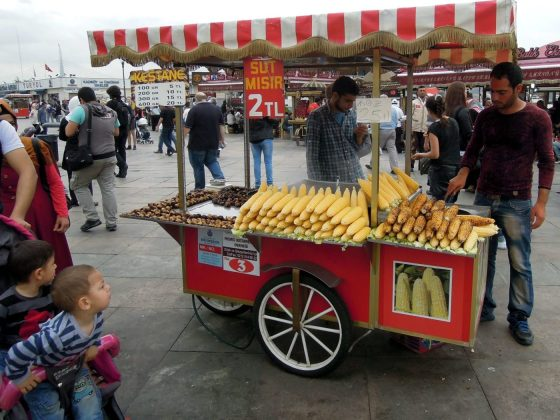 Еда в Стамбуле в мае