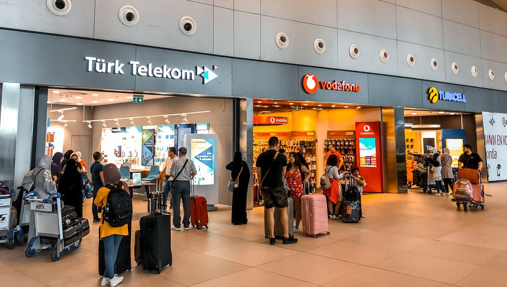 Где купить SIM-карту в Стамбуле