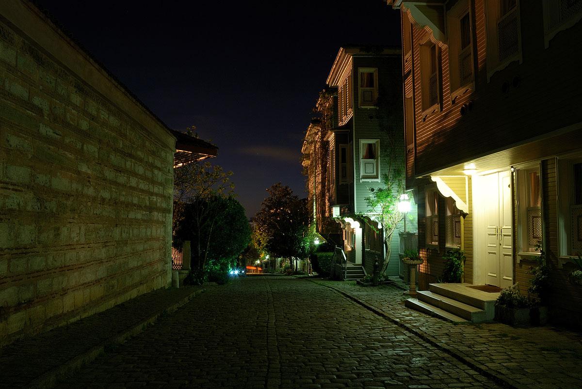 Вечерние прогулки по Стамбулу