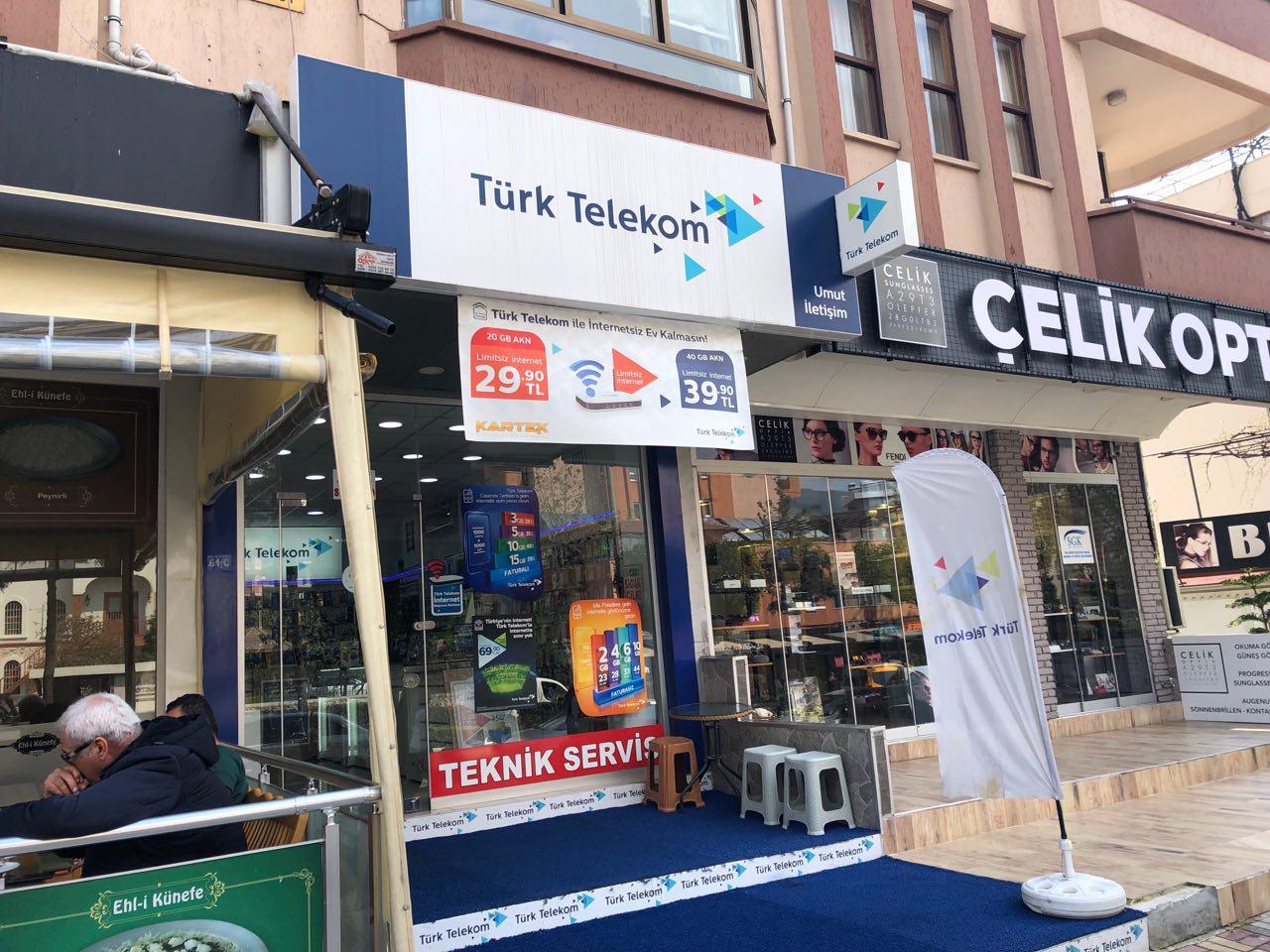 Регистрация телефона в Турции