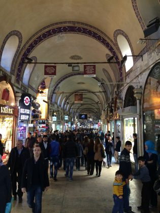 Рынки и покупки в Стамбуле в феврале