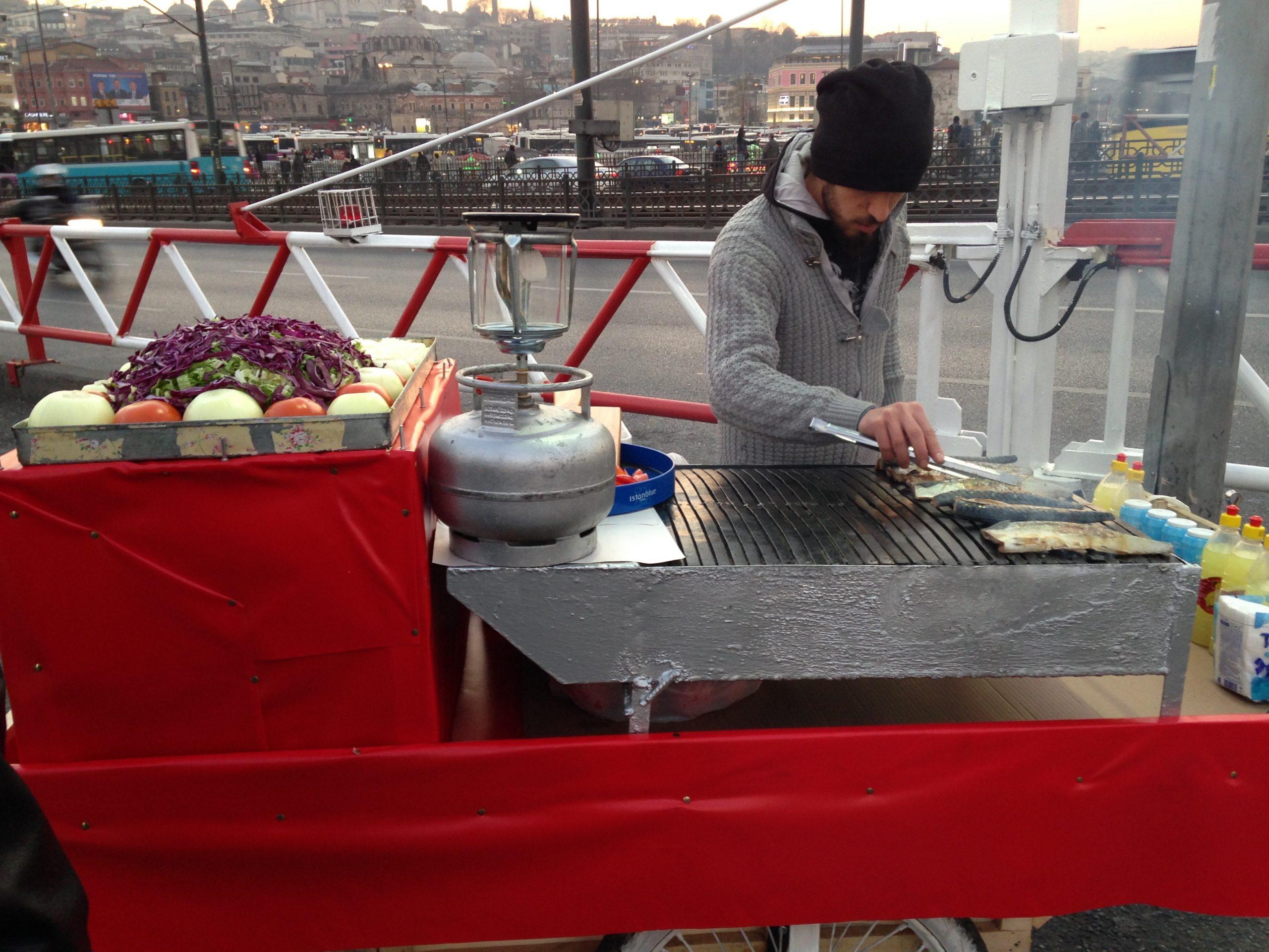 Где недорого поесть в Стамбуле в марте