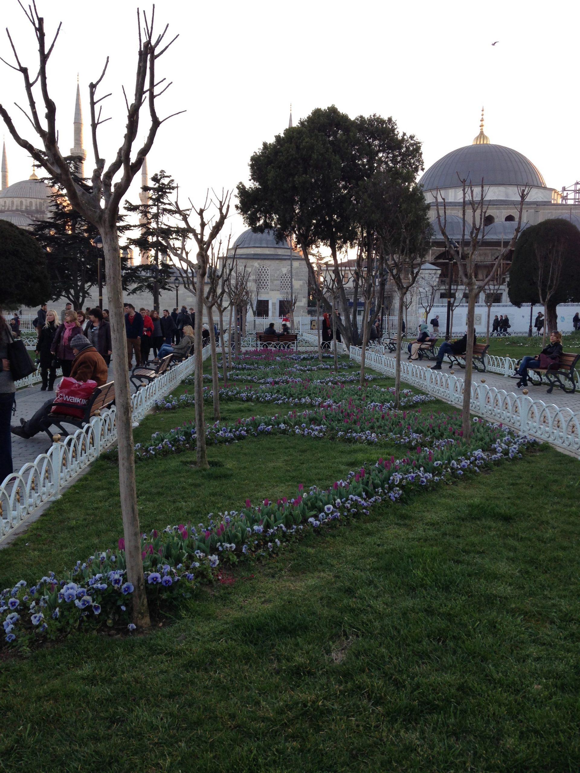 Отдых в Стамбуле весной