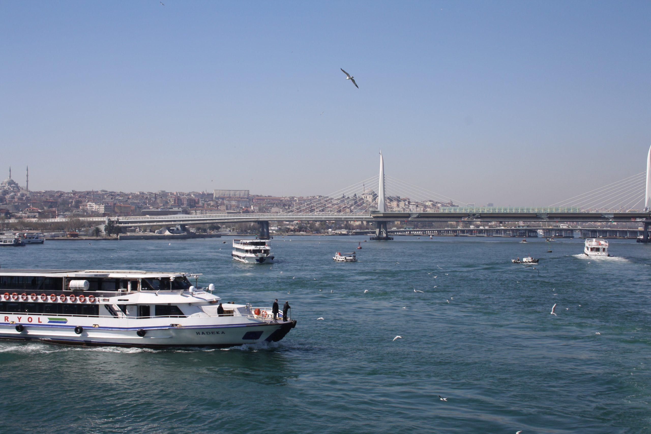 Водный тур по Босфору