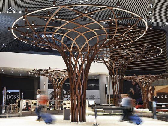 Новый аэропорт Стамбула внутри