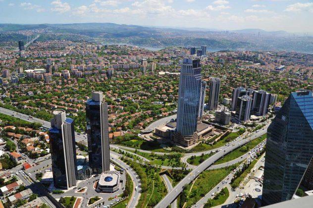 Смотровая площадка Истанбул Сапфир