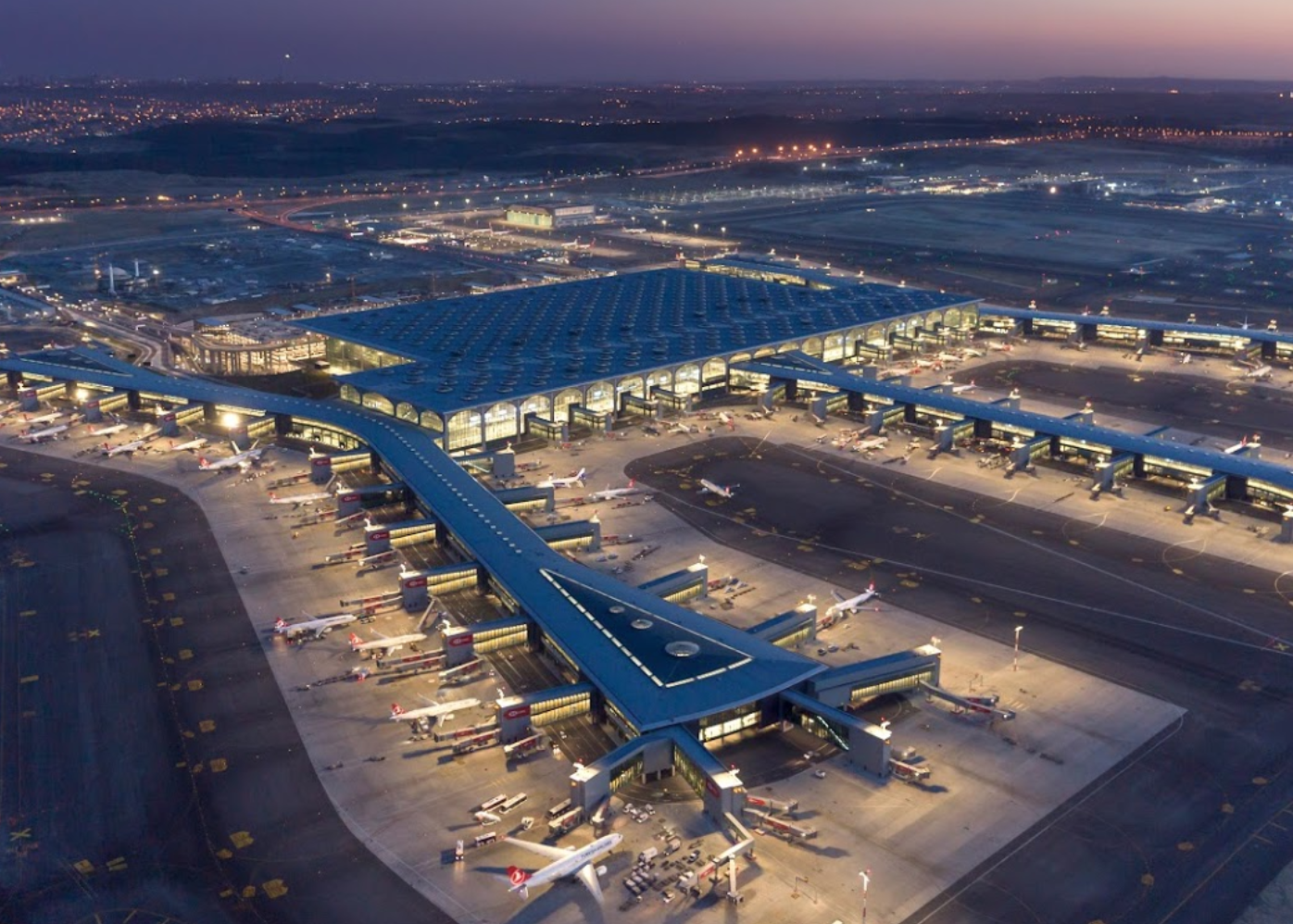 Транспорт из аэропорта Стамбула в город