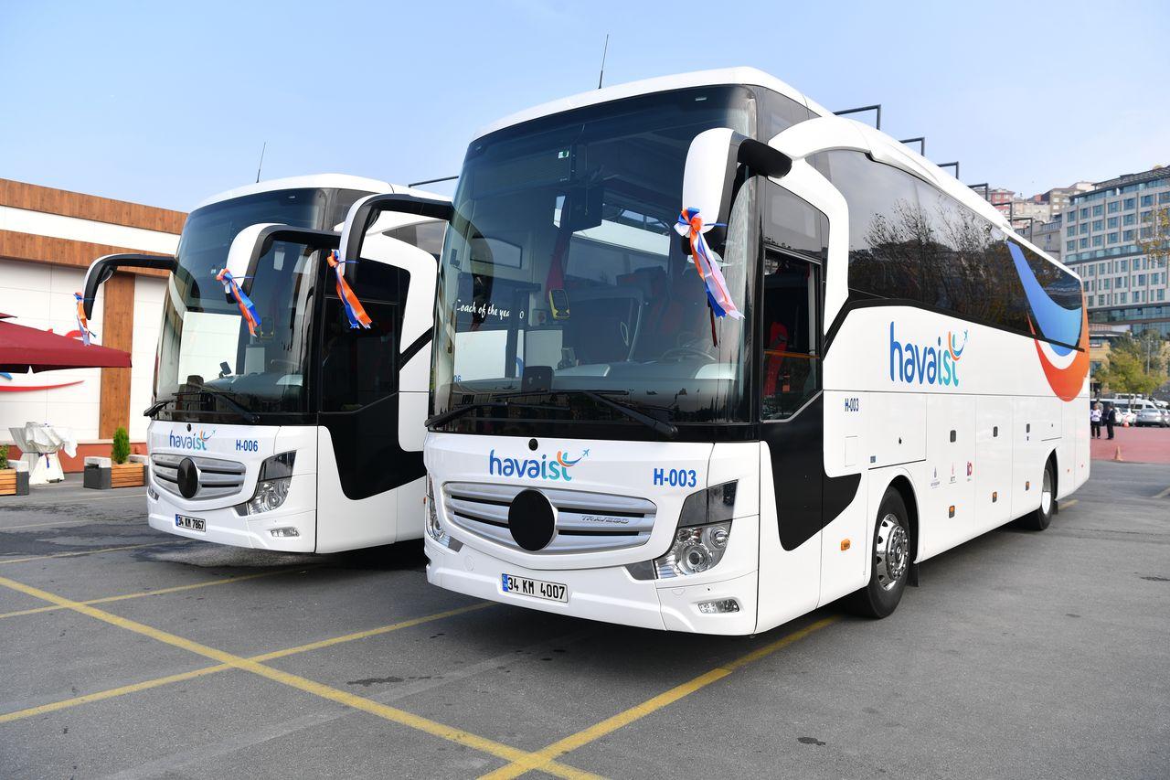 Автобусы из нового аэропорта Стамбула в город