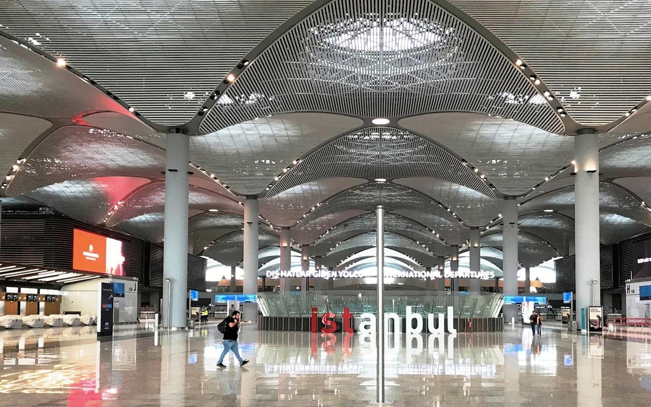 Как доехать из нового аэропорта Стамбула в Стамбул