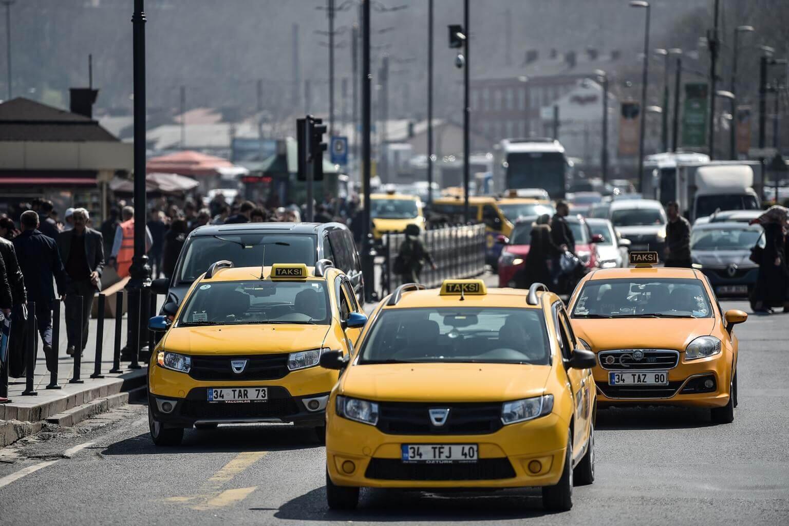 Такси из нового аэропорта Стамбула в город