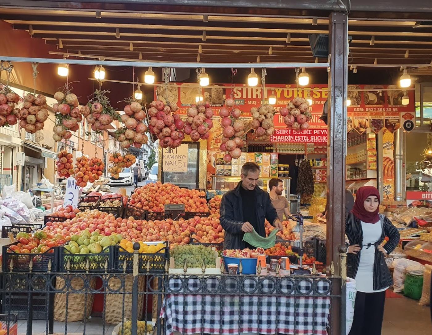 Сииртский (женский) рынок