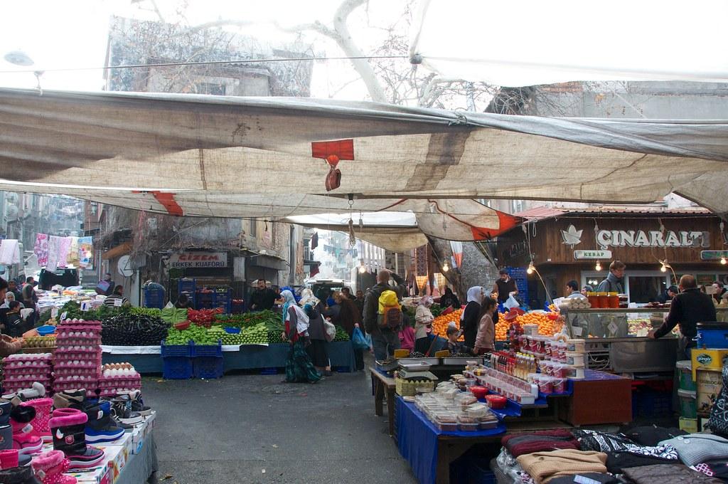 Фермерские рынки в Стамбуле