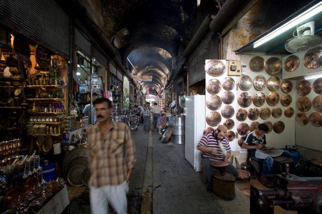 Рынок Бакырджилар в Стамбуле