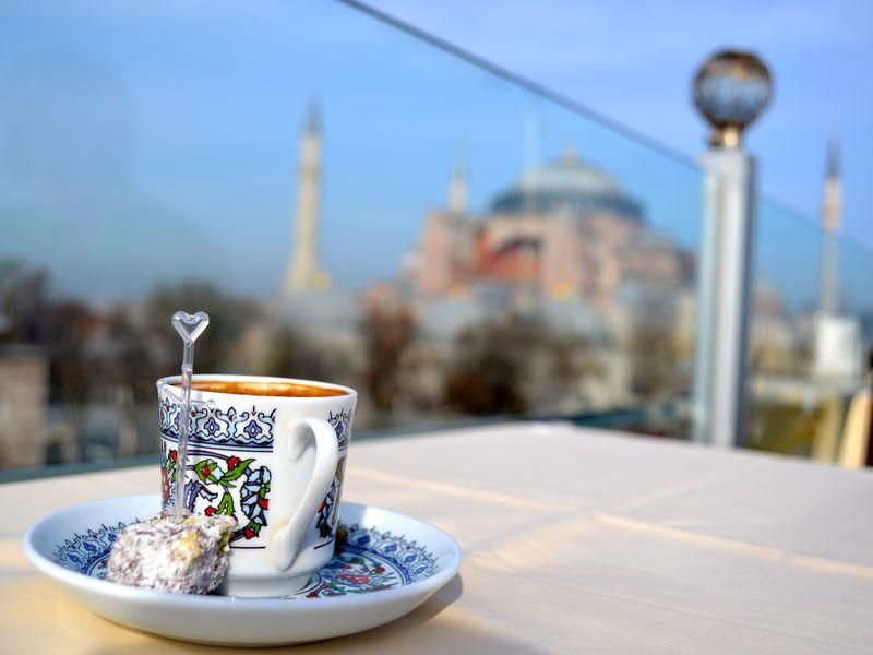 Где выпить кофе в Стамбуле