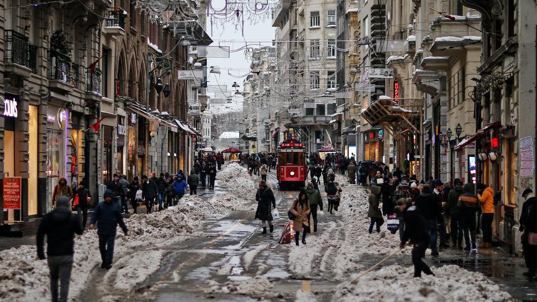 Какая погода на новый год в Стамбуле