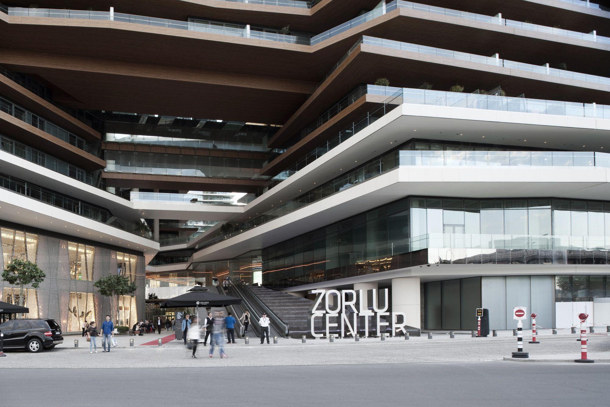 Zorlu Center (Зорлу Центр) в Стамбуле