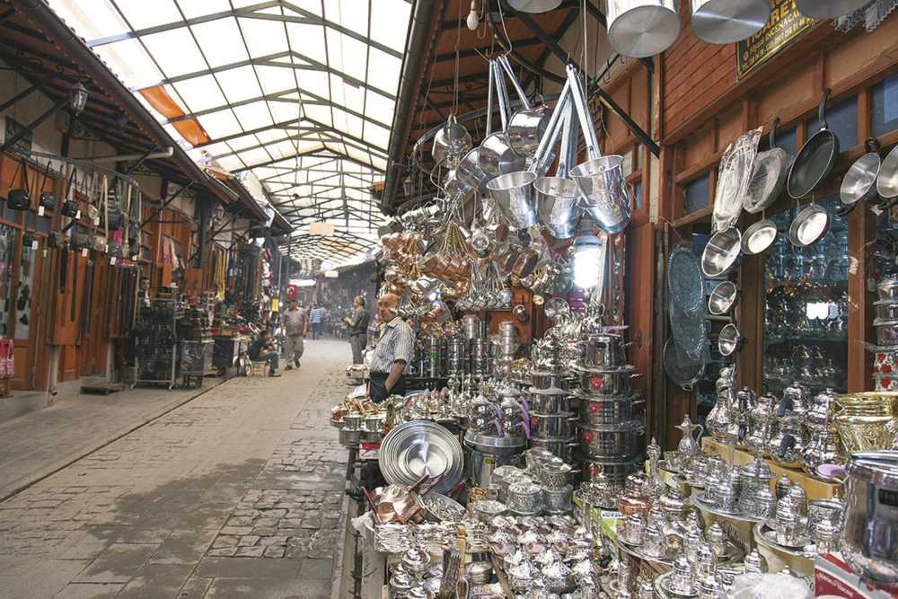 Базар Бакырджилар (Bakırcılar Bazaar)