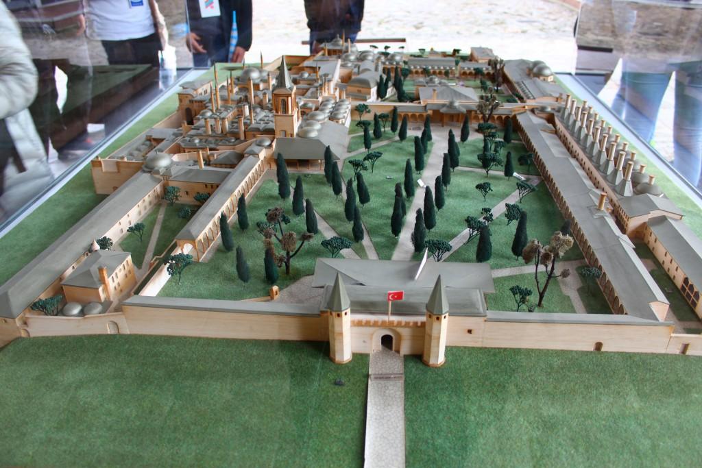 Дворец Топкапы в миниатюре