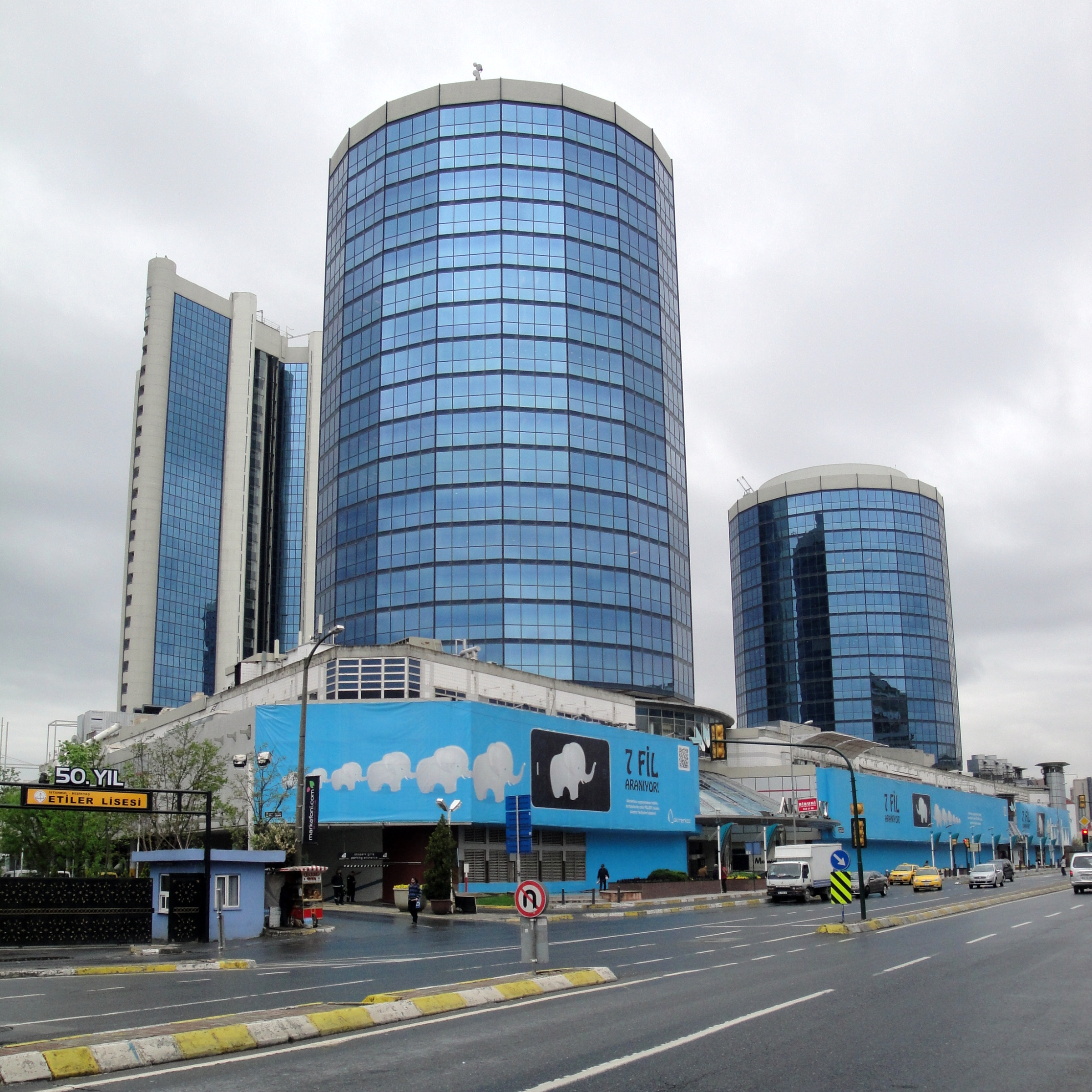 Akmerkez (Акмеркез) в Стамбуле