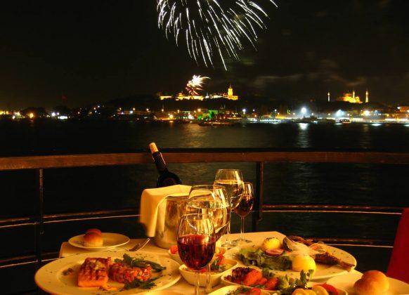 Рестораны Стамбула на новый год