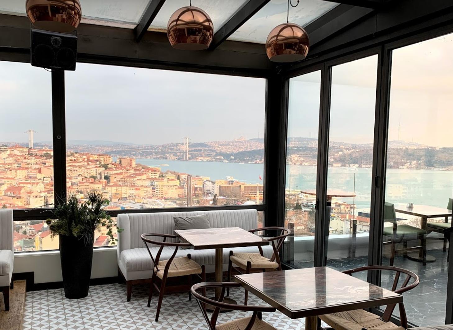 Ресторан Vogue в Стамбуле