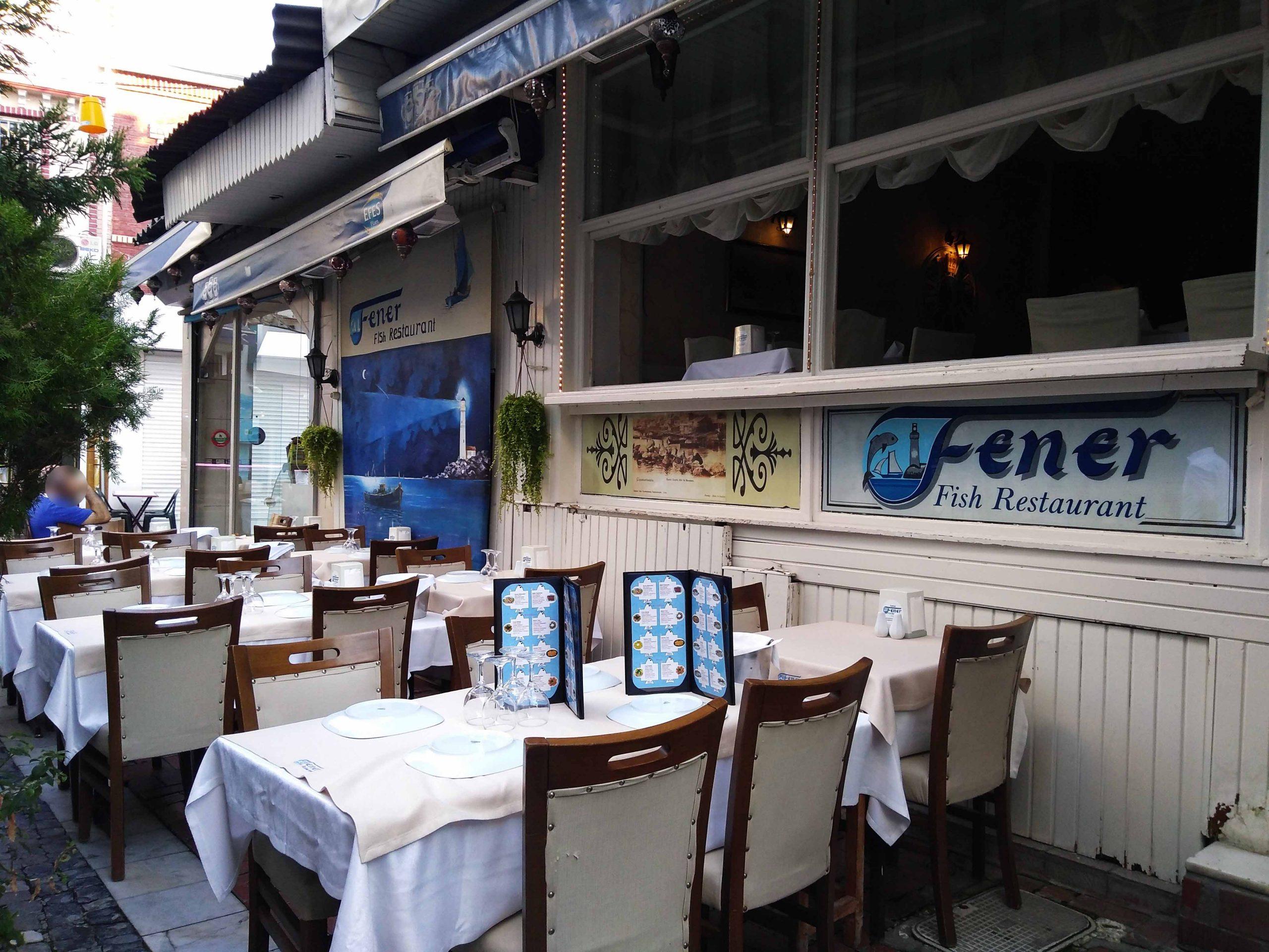 Рыбный ресторан Fener Restaurant Kumkapı