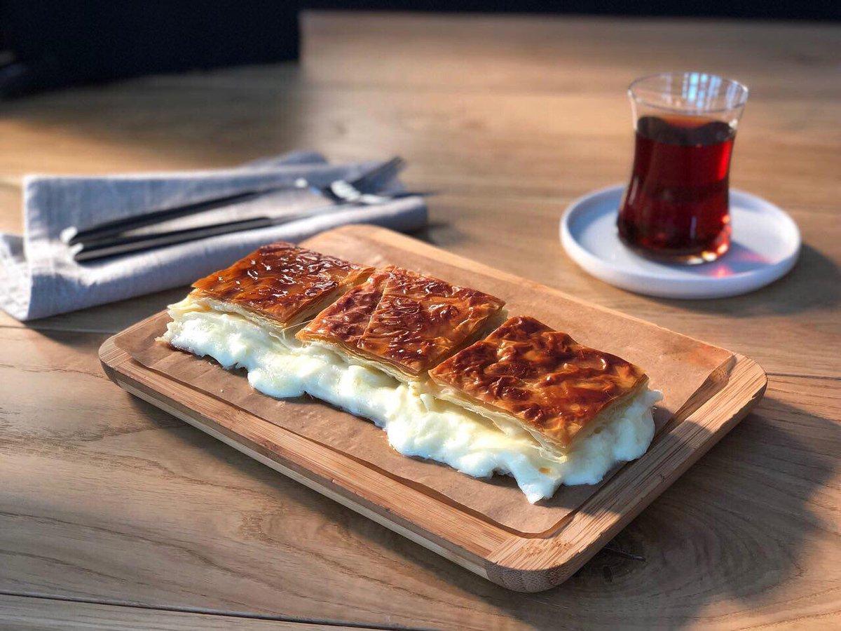 Бёрек (Börek) в Стамбуле