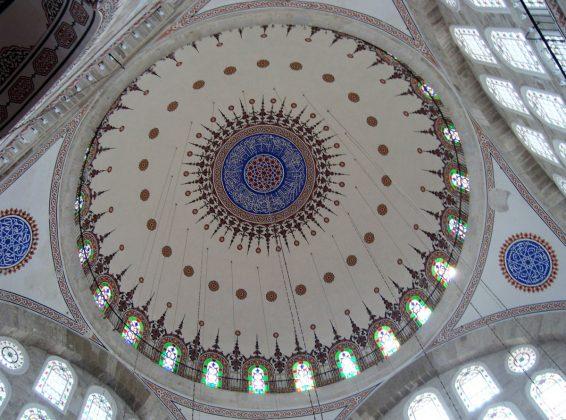Мечеть Михримах-султан внутри