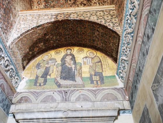 Мечеть Айя-София внутри