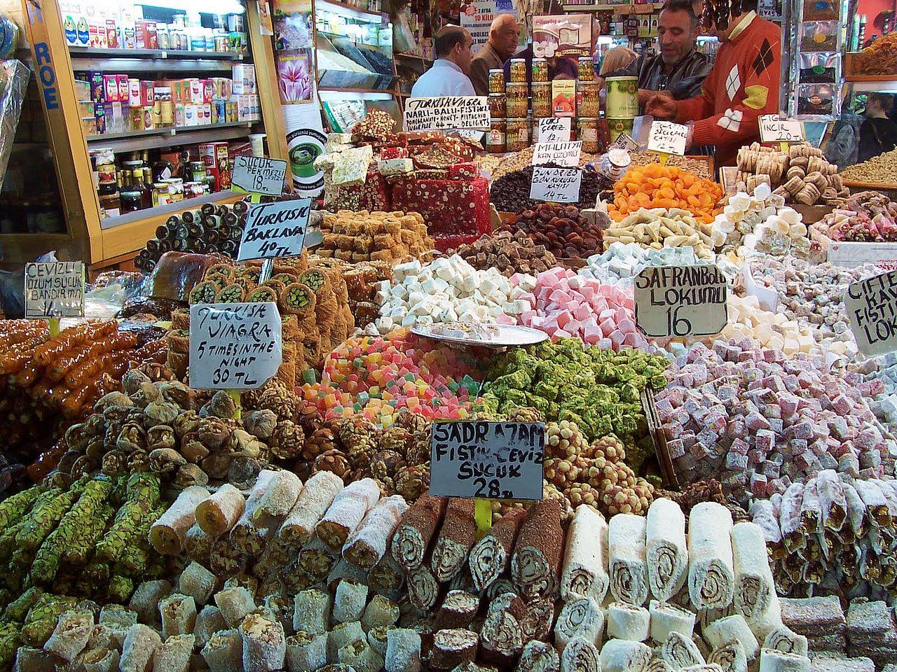 Где купить сладости в Стамбуле