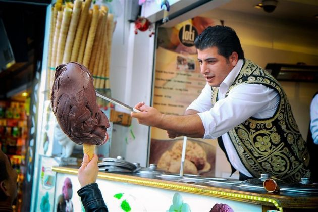 Марашское мороженое (Maraş dondurma)