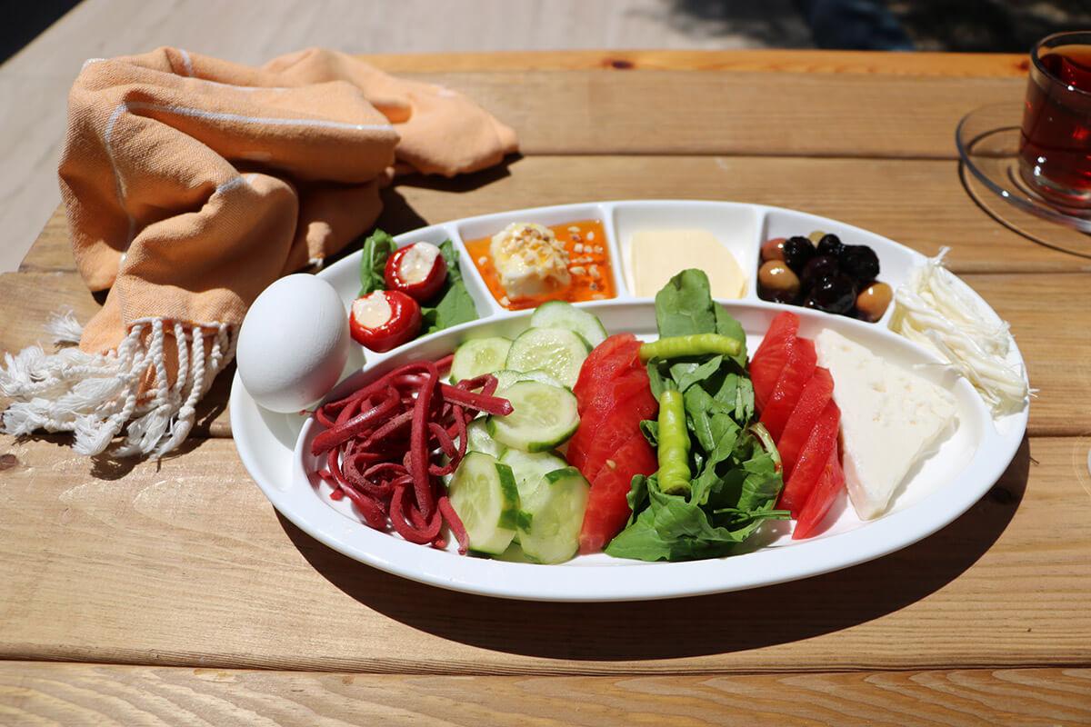 Тарелка для завтрака в Стамбуле