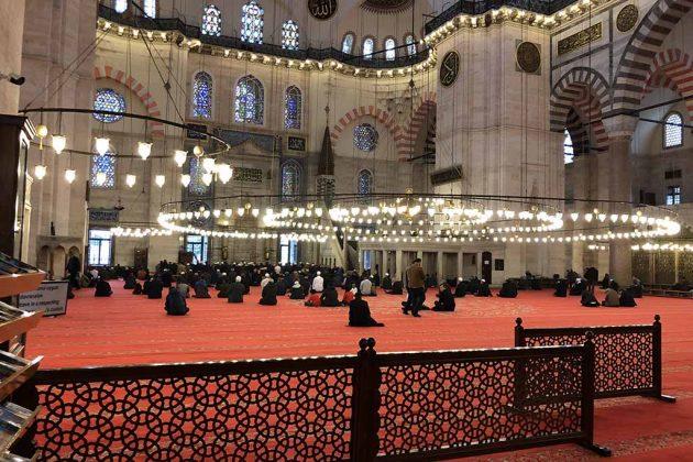 Мечеть Сулеймание внутри
