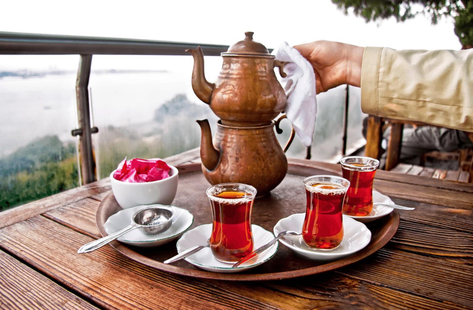 Как заваривают чай в Турции