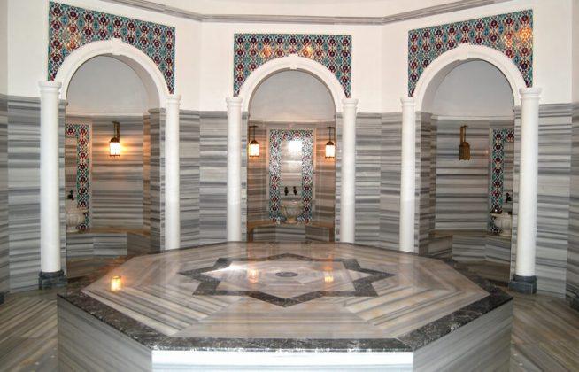 Современный хамам в Стамбуле