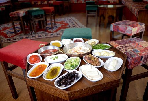 Деревенский завтрак в Стамбуле