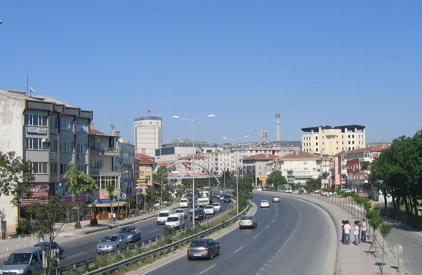 Район Бююкчекмедже в Стамбуле
