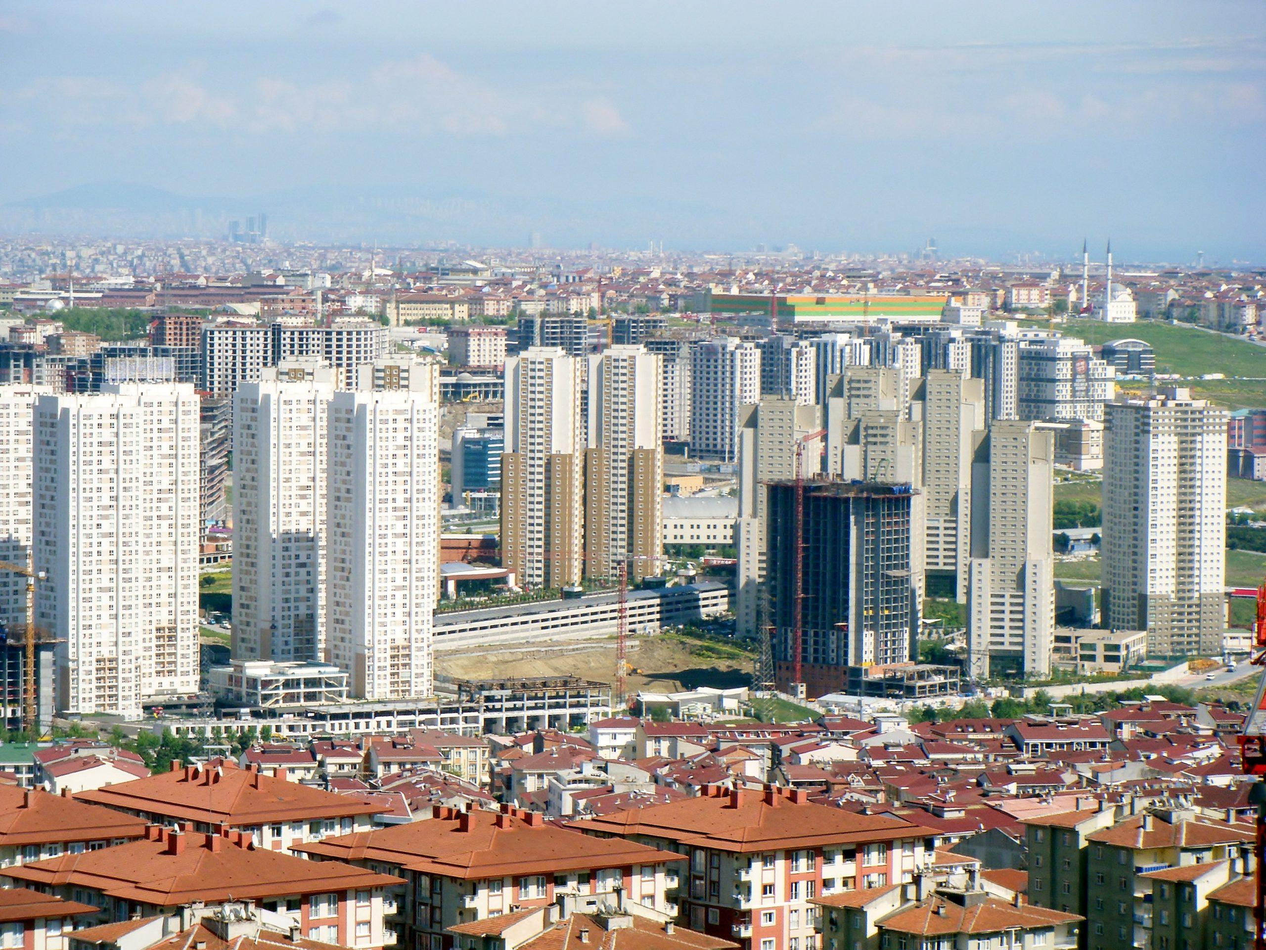 Район Эсеньюрт в Стамбуле