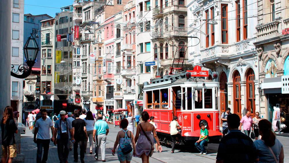 Район Бейоглу в Стамбуле