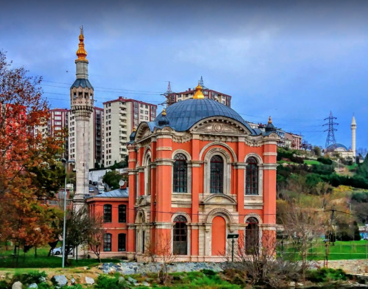 Район Кягытхане в Стамбуле